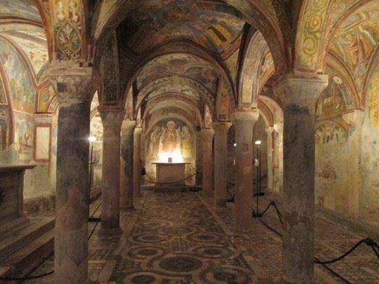 88297 anagni cripta della cattedrale di anagni