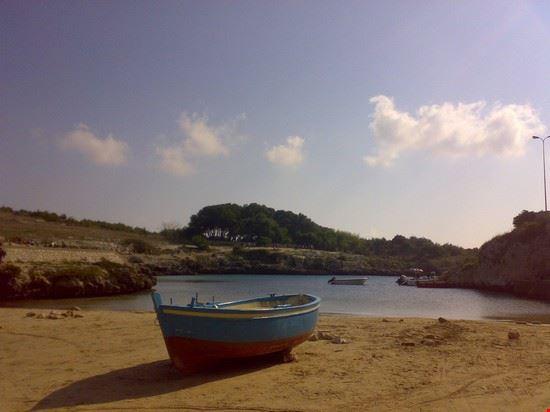 spiaggetta di porto badisco otranto