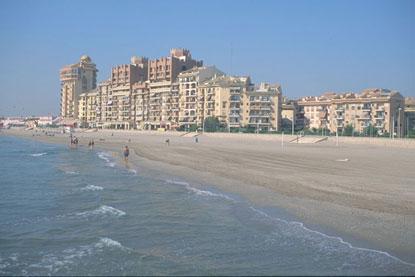Le spiagge di valencia valencia for Spiaggia malvarrosa valencia