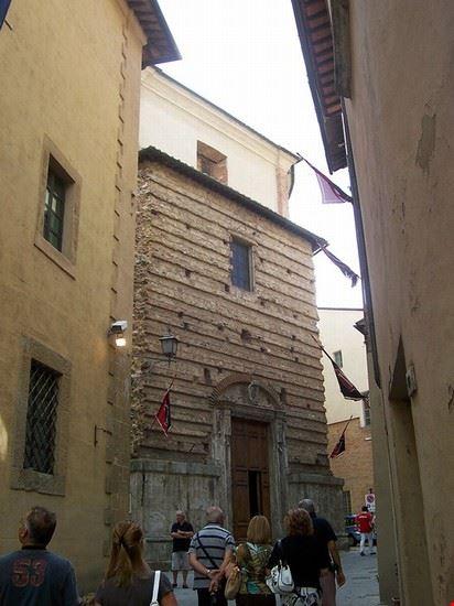 montepulciano chiesa del gesu montepulciano