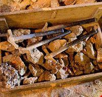 89643  museo minerali elbani collezione a ricci