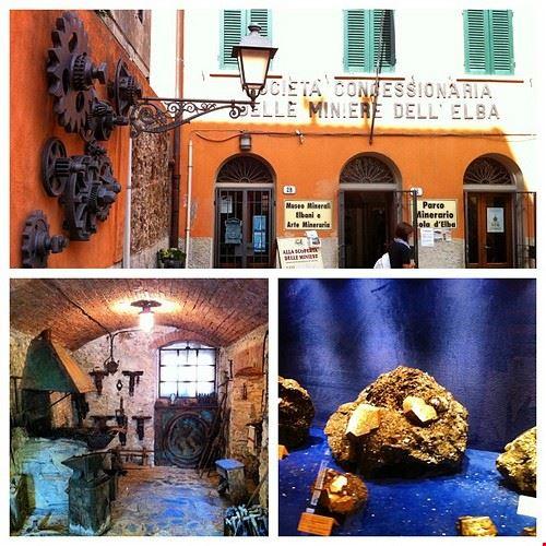 museo minerali elbani collezione a ricci