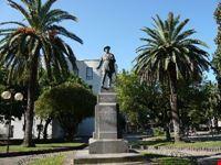 La statua di Carlo Pisacane