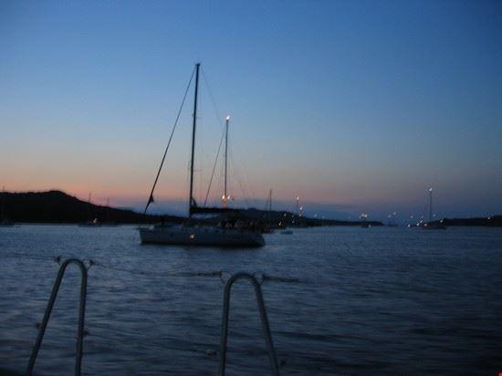 90260 isola della maddalena tramonto sulla spiaggia rosa
