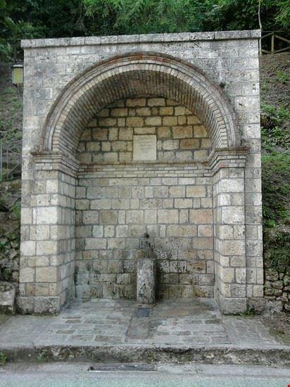 fontana degli amanti civitella del tronto