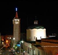 Il campanile illuminato