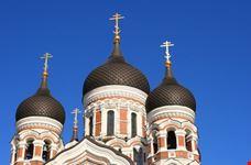 Cupole della chiesa russa a Tallinn