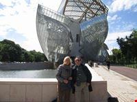 noi al museo vuitton parigi