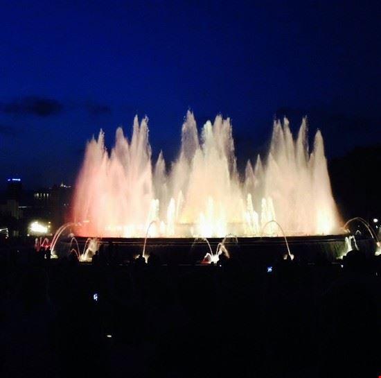 La Fontana Magica a Barcellona