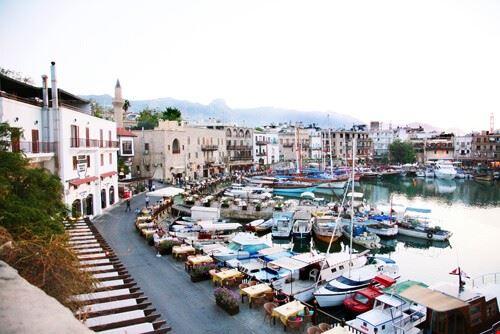 kyrenia kyrenia harbour in north cyprus kyrenia