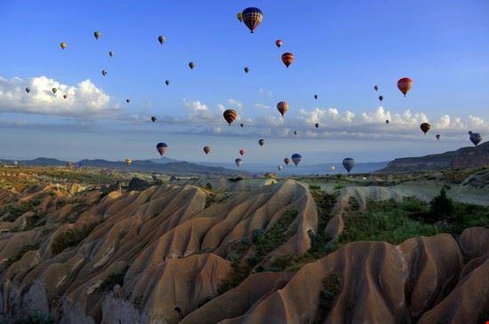 Cappadocia in Mongolfiera