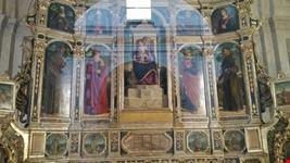 Polittico di Cima da Conegliano nella chiesa di Santa Maria Maggiore