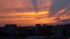 tramonto a milano milano