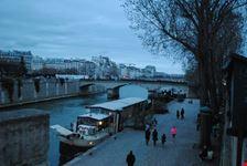 veduta della senna parigi