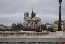 cathedrale notre-dame de paris veduta posteriore parigi