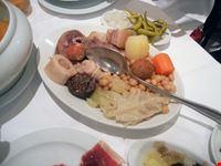 madrid - la taberna de la daniela, il cocido madrileno (le carni)
