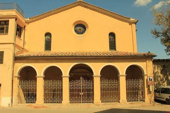 96364 montieri chiesa san francesco montieri