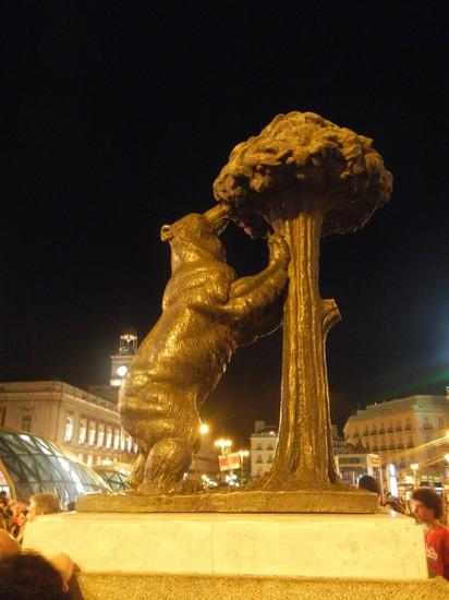 Photo madrid madrid puerta del sol l orso e il corbezzolo for Puerta del sol online