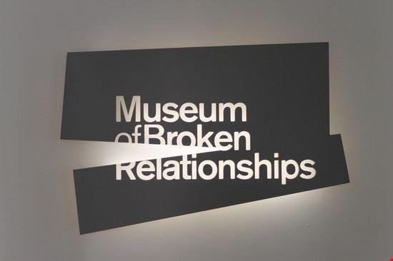 zagabria museo delle relazioni finite
