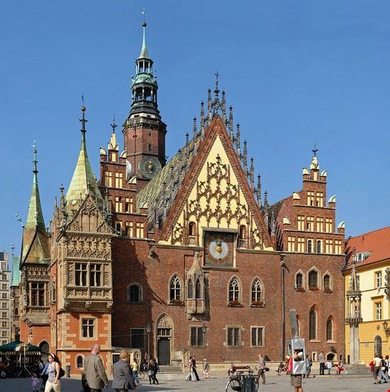 wroclaw municipio di breslavia