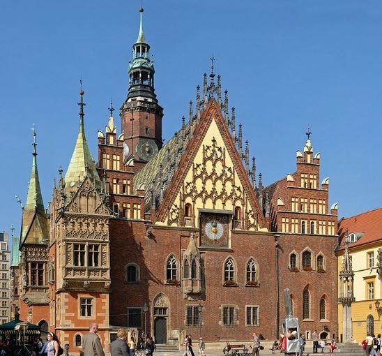 96491 wroclaw municipio di breslavia