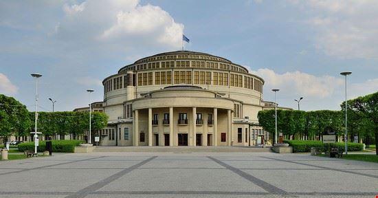 wroclaw sala del centenario breslavia