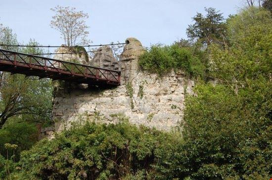 96627 parigi parco di buttes-chaumont