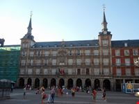 madrid madrid plaza mayor casa de la panaderia