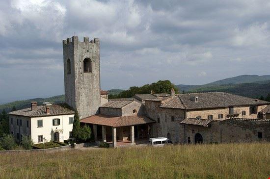 97020 gaiole in chianti abbazia di san lorenzo a coltibuono