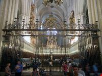 toledo - cattedrale, il coro