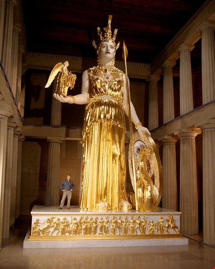 nashville athena parthenos statue