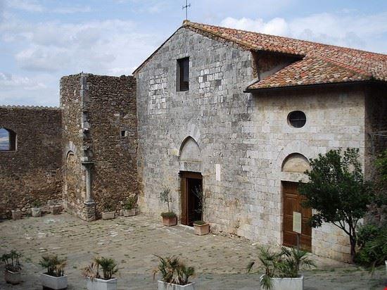 97292 manciano chiesa di san giorgio a montemerano