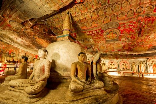 dambulla the rock temple