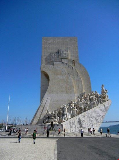 lisbona lisbona monumento alle scoperte