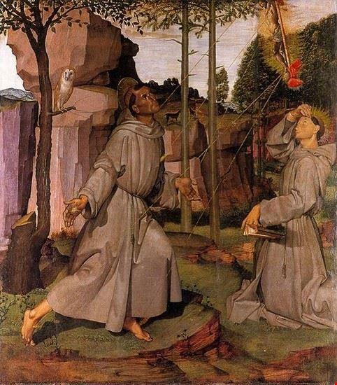 Pinacoteca Comunale, Le stigmati di S.Francesco