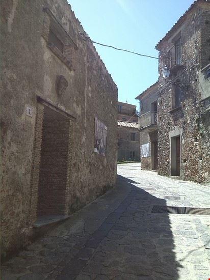 Via del centro storico di Tiriolo