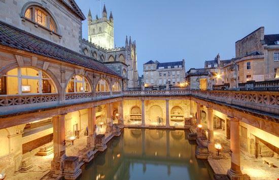 bath terme romane
