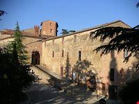 Veduta esterna della Grancia di Santa Maria della Scala