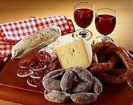 Salumi e formaggi in mostra