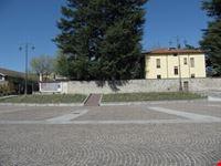 Piazza Fornaci e Villa Rossi