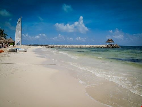 98457  spiaggia di puerto morelos