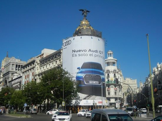 madrid - gran via, metropolis