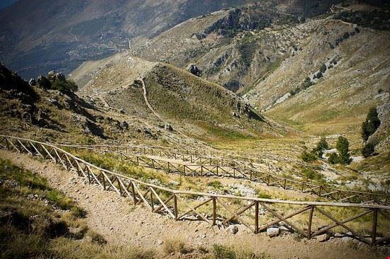 sentiero - parco naturale dei monti aurunci