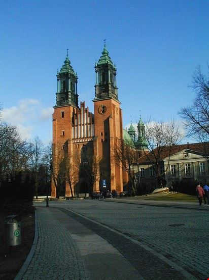 poznan cattedrale di poznan