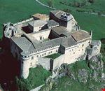 Veduta aerea della fortezza