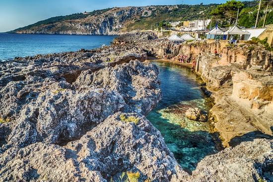 Piscina naturale di marina serra tricase - Marina serra piscina naturale ...