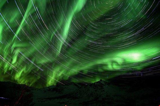 bergen aurora boreale