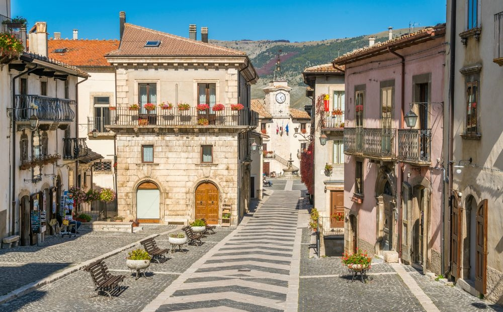 Pescocostanzo centro storico