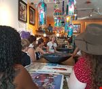 Little avana_ tour enogastronomico del Miami Culinary Tours_ atelier bar dell'artista Augustin