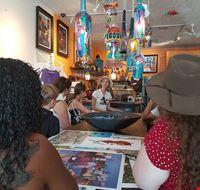 Little avana_ tour enogastronomico del Miami Culinary Tours_ atelier bar dell'artista Augustin